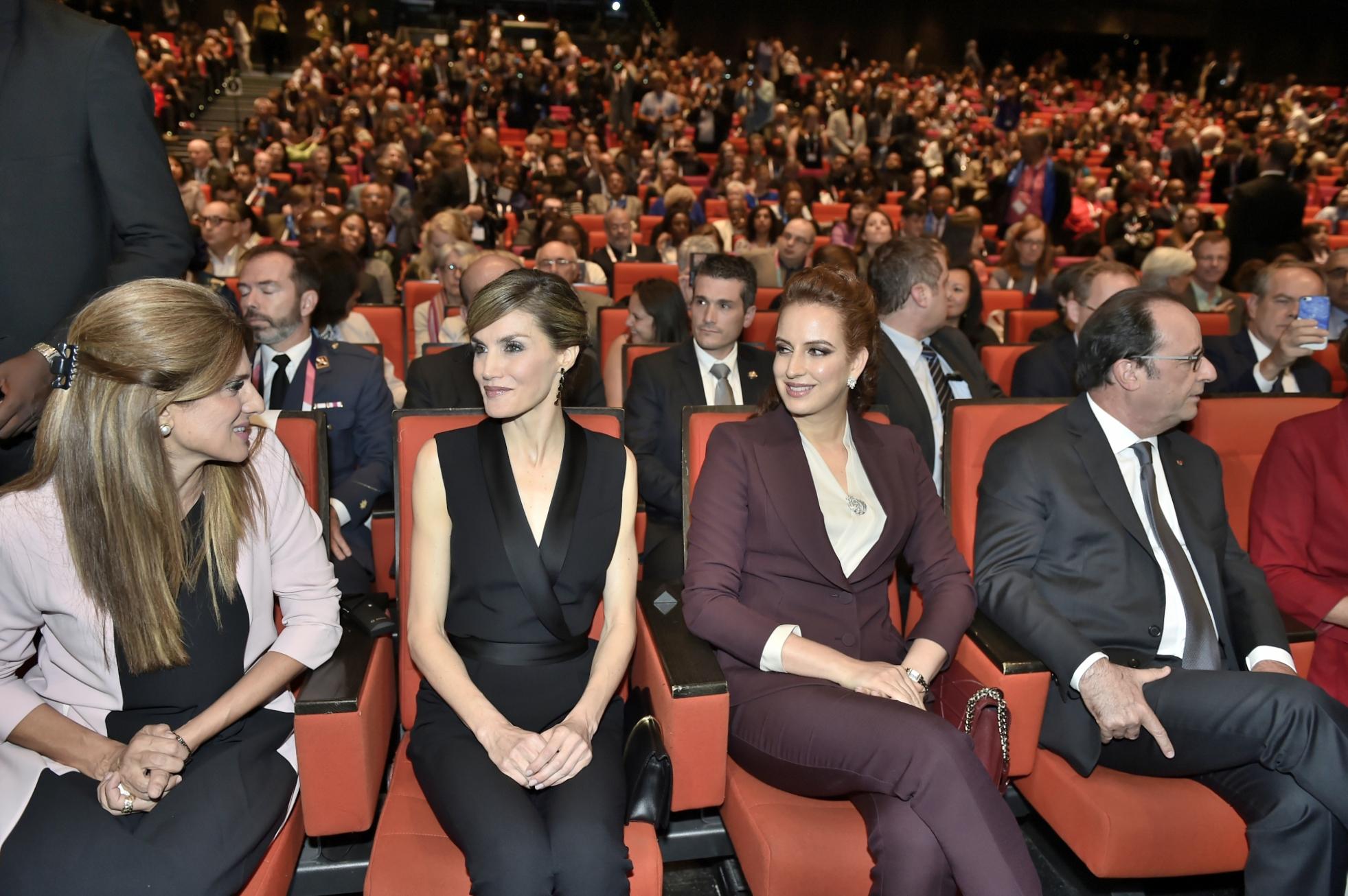 SAR Lalla Salma assiste au Congrès mondial contre le cancer