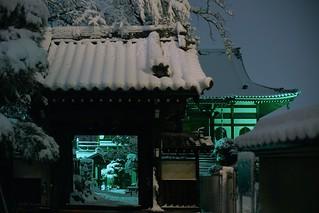 Snow & Lighting@waseda_Tokyo_02