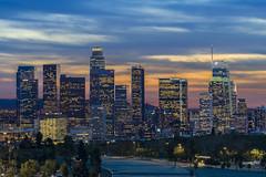 Winter Sunset In LA
