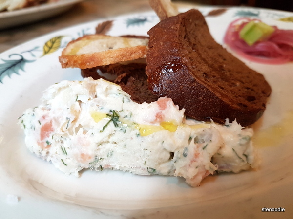 Smoked White Fish & Salmon Rillettes