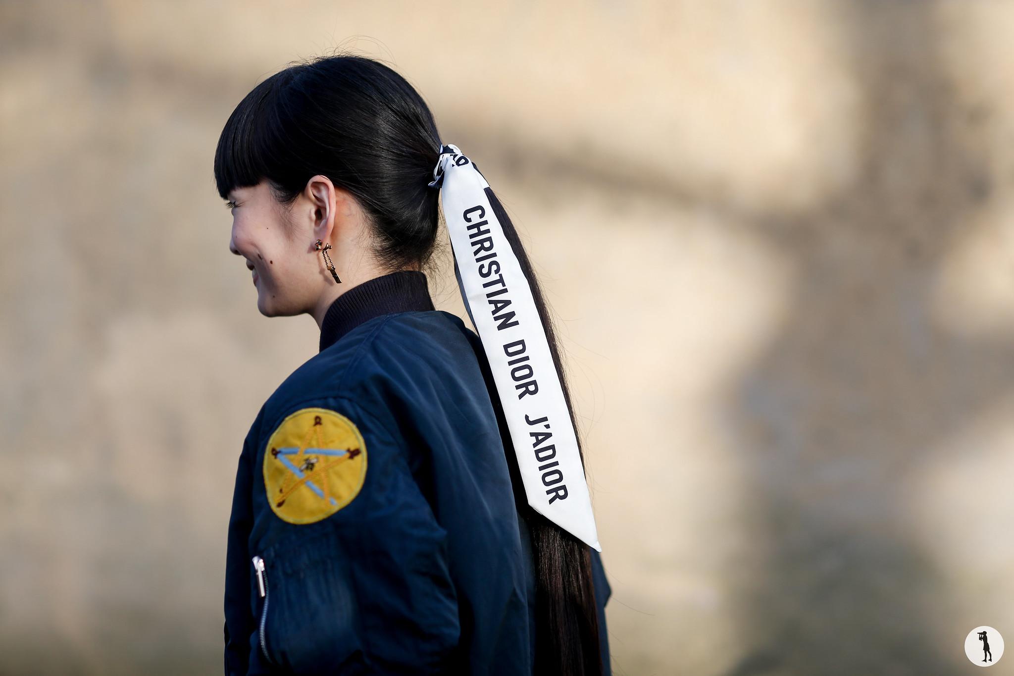 Kozue Akimoto - Paris Fashion Week Haute-Couture SS18 (4)