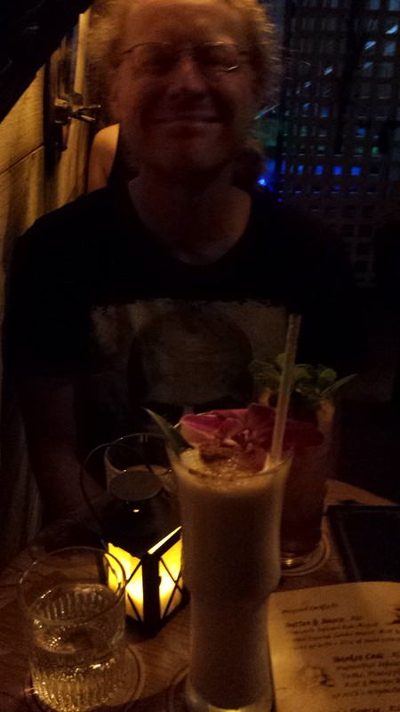 Fancy hipster cocktail spot