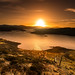 Loch Sealg Sunset