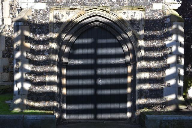 St Saviours Church doorway