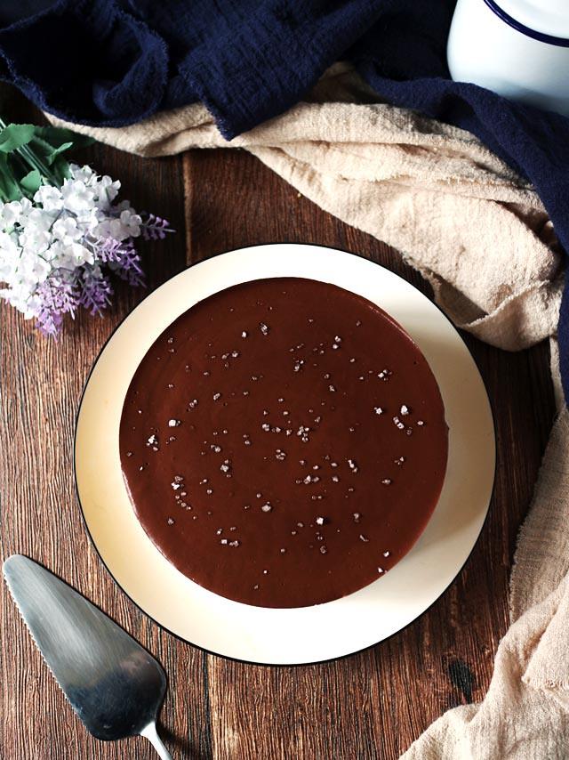 純素巧克力南瓜乳酪蛋糕 vegan-chocolate-pumpkin-cheesecake (4)