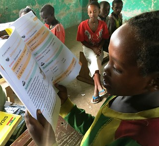 Learning to read, Ethiopia