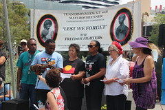 A freedom song from the West Papuans at Commemoration of Tunnerminnerwait and Maulboyheener - IMG_2807