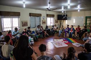 Construção do manifesto LGBT em prol da democracia no Sindipetro-RS