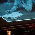 First Minister Nicola Sturgeon reads from 'The Prime of Miss Jean Brodie' | © Alan McCredie