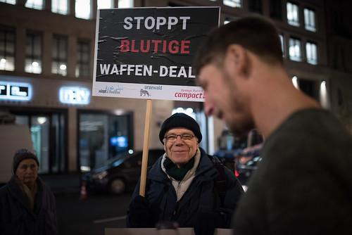Waffenexporte/ Die-In vor Landesvertretung /2018-02-01