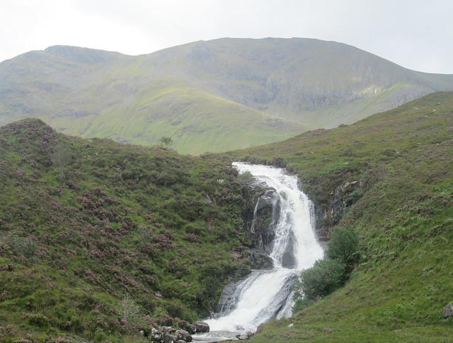 Allt Coire Nam Bruadaram Waterfall, Skye, Even Closer view