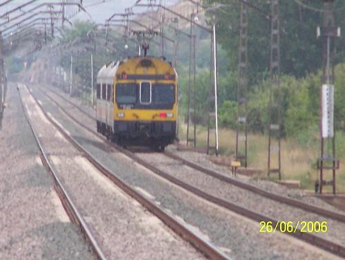 TER RENFE quitte la gare de Calatorao