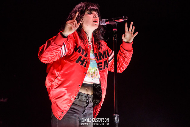 Sleigh Bells perform at the 9:30 Club in Washington, D.C.