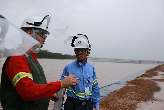 Inspection of Alunorte bauxite residue deposit