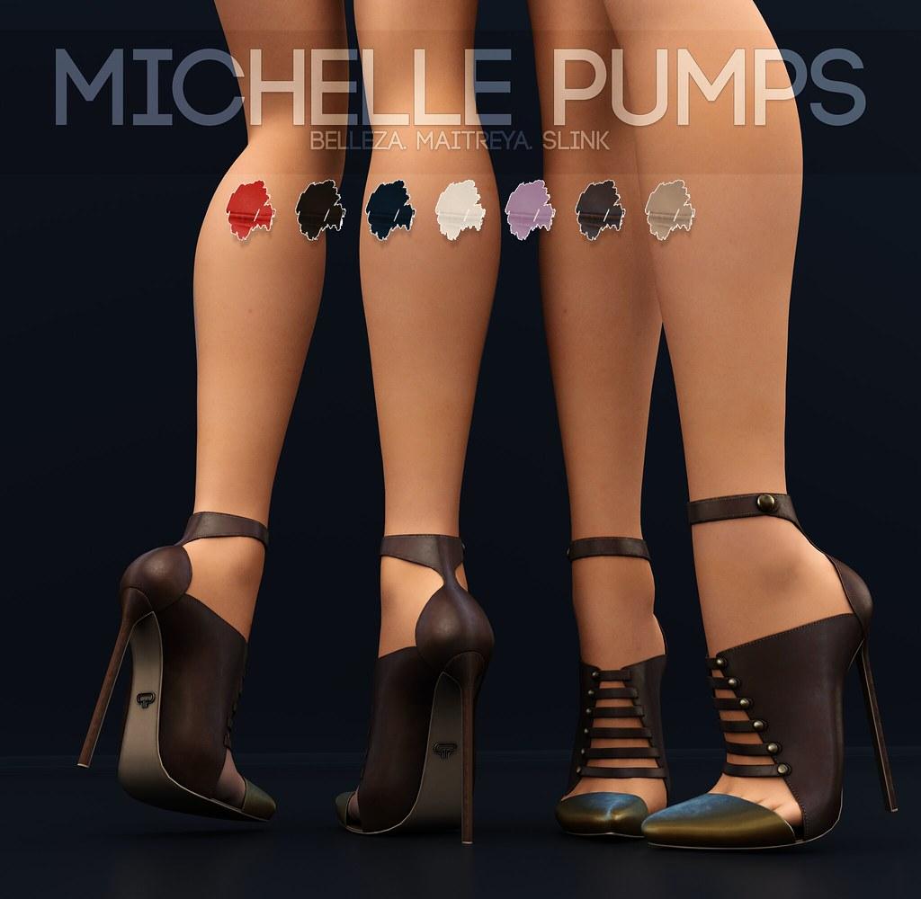 Pure Poison – Michelle Pumps AD