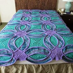 :D <3 <3 that delicate pattern of crocheted quilt step by step I loved this pattern very beautiful and precious