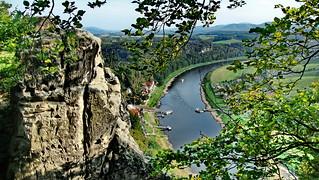 Bastei Elbsandsteingebiet