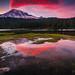 Reflections @ Mount Rainier national park by Marcel Tuit | www.marceltuit.nl