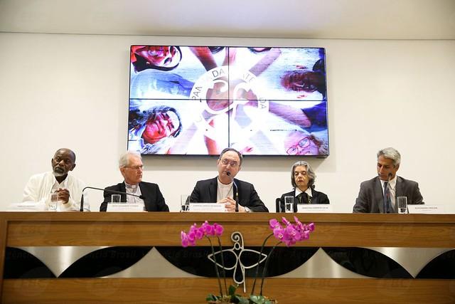 """A Conferência Nacional dos Bispos do Brasil (CNBB), responsável pela campanha, escolheu o tema """"Fraternidade e Superação da Violência"""" - Créditos: Marcelo Camargo/Agência Brasil"""