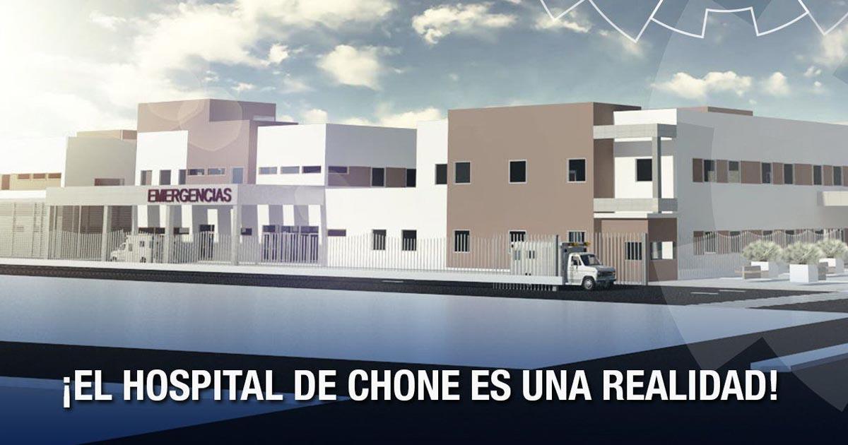 El Hospital de Chone es una realidad