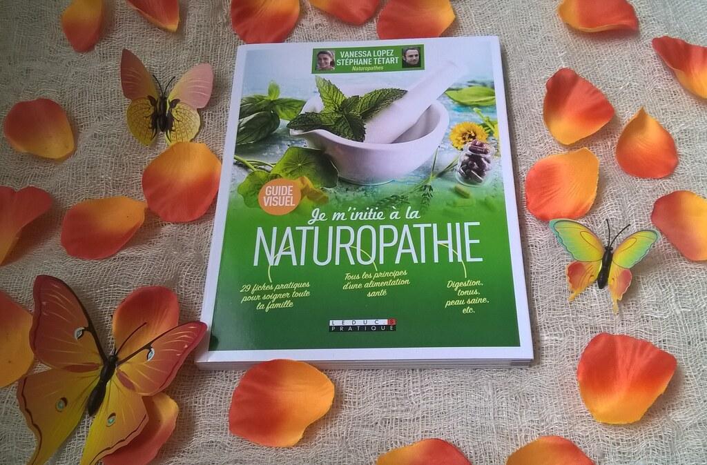 Je m'initie a la naturopathie livre