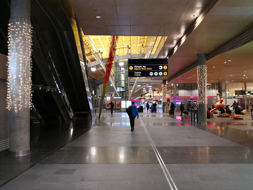 Arrivals atrium