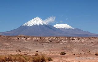 Atacama - Licancabur and Juriques