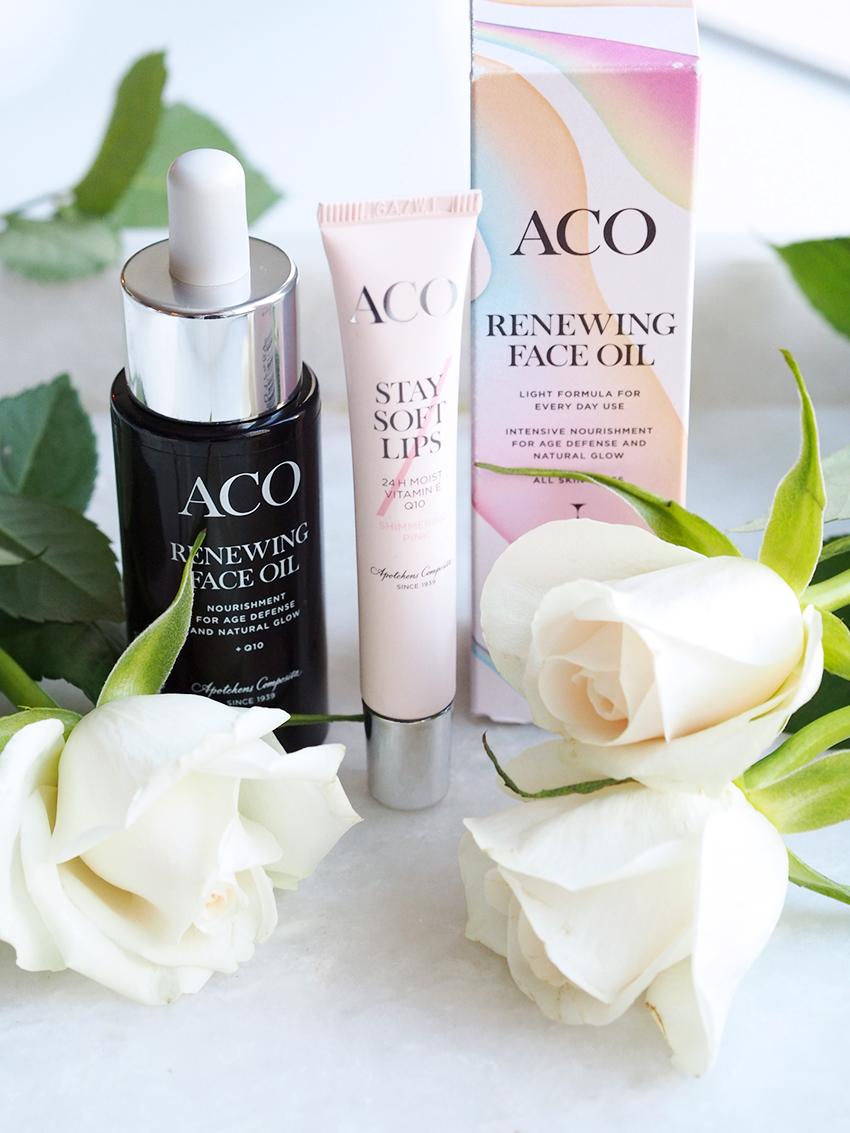 Aco Renewing face oil kokemuksia ihonhoito blogi 5