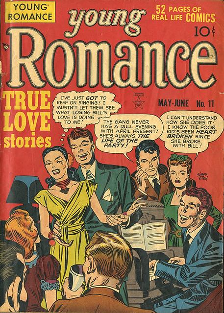 Young Romance No. 11 (No. 5) May/June 1949