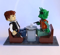 Han and Greedo's brief Cantina scene