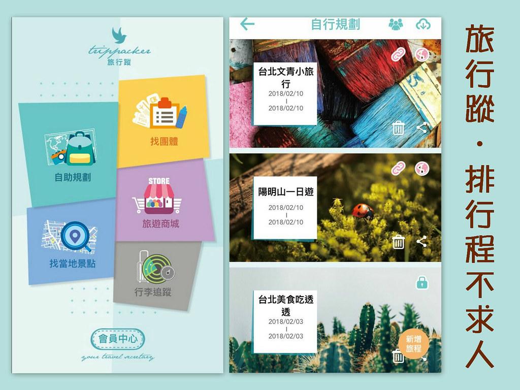 免費app旅遊軟體推薦