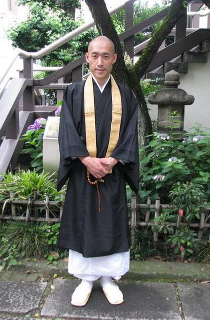 Buddhist monk Shoukei Matsumoto is seen after a full day's work at Komyoji Temple in Tokyo on June 7, 2016. Matsumoto, 36, has initiated various projects in order to rebuild the lost temple community in Japan. From thehindu.com