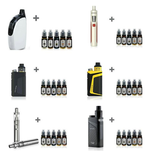 buy E cigarette online with 5 e liquids free - Vapecart