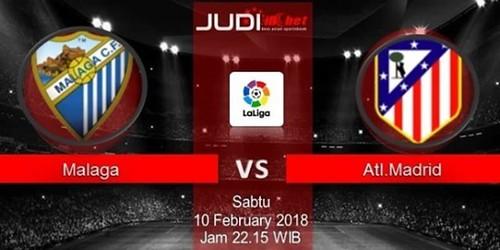 Prediksi Bola Malaga FC vs Atletico Madrid, hari Sabtu, 10 Februari 2018 - Liga Inggris