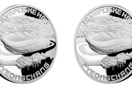Česká mincovna vydává stříbrnou medaili kolympijským hrám vJižní Koreji