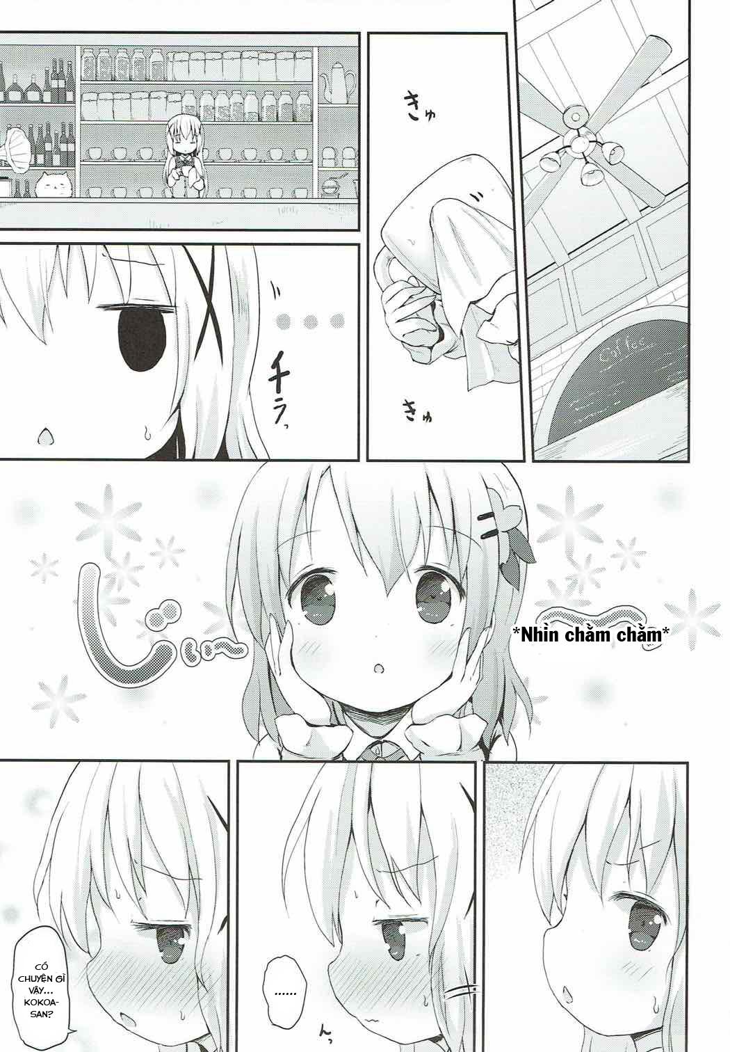 HentaiVN.net - Ảnh 2 - Chino-chan no Omata Check (Gochuumon wa Usagi desu ka?) - Oneshot