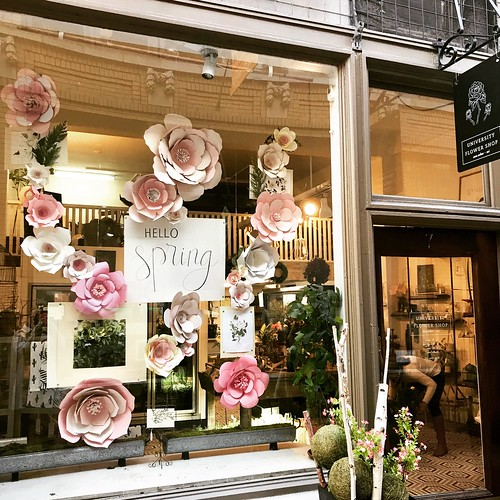 @universityflowershop putting a little spring in our step 🌷🌸😍 #springiscoming