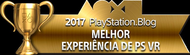 PlayStation Blog Game of the Year 2017 - Best PS VR Experience (Gold)