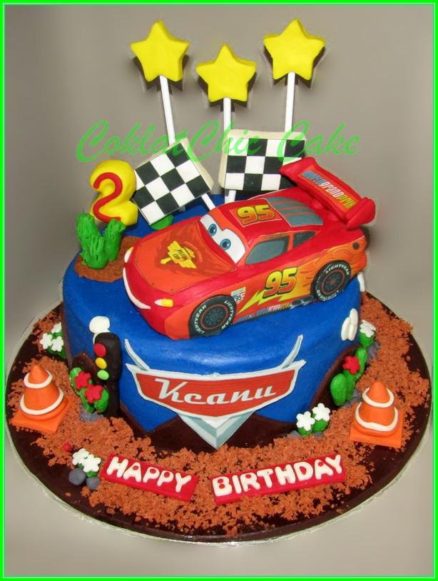 cake Lightning McQueen Cars KEANU 15 cm