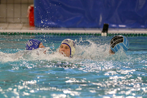 Waterpolo DZK H2 vs VZV Njord H3<br/>35 foto's