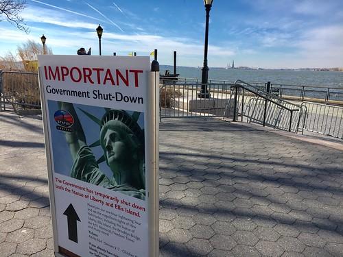 Statue of Liberty - Ellis Island Ferry Entrance