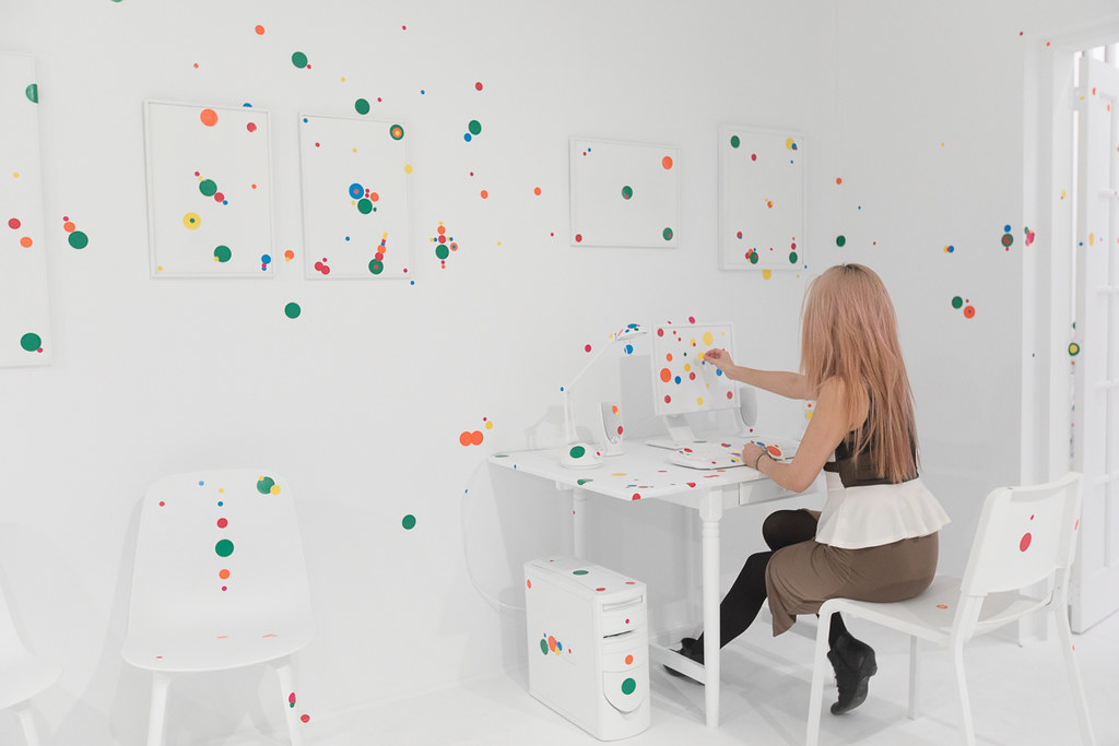 You can add stickers to the Obliteration Room