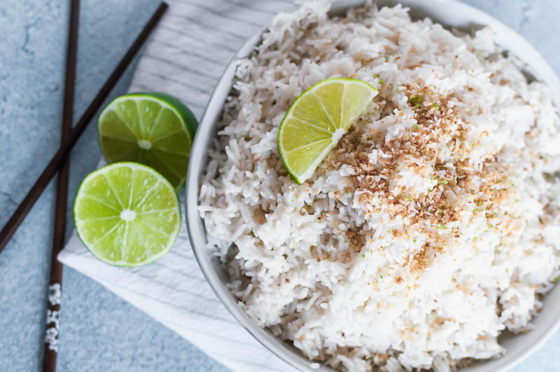 Instant Pot Coconut Lime Rice