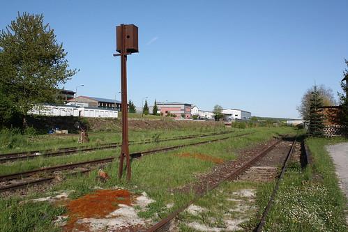 Technik und Natur im Bahnhof Dingelstädt