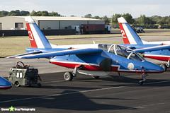 E165 3 F-TERE - E165 - Patrouille de France - French Air Force - Dassault-Dornier Alpha Jet E - RIAT 2010 Fairford - Steven Gray - IMG_7365