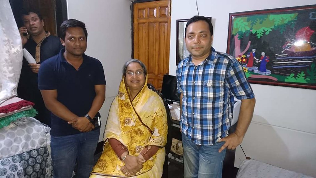 চাঁদপুর-৩ আসনের মাননীয়া সংসদ সদস্য ডাঃ দিপু আপার সাথে