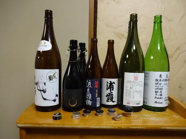 Japanese Sake Party in, Sony DSC-WX200
