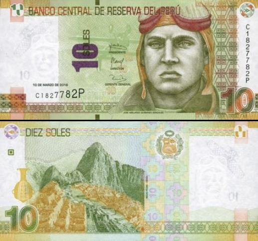 10 Nuevos Soles Peru 2018, new