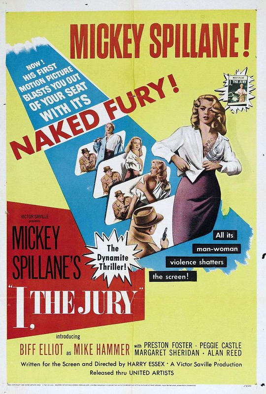 I, the Jury - 1953 - Poster 1