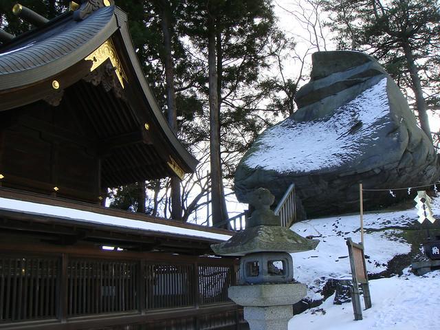 烏帽子岩 (櫻山神社)